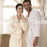 Factory Wholesale Luxury 100%Cotton Terry Cloth Hotel Bathrobe