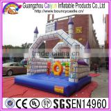 Air bouncer inflatable trampoline high jump trampoline for kids