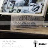 HONGDAO vintage wooden box, vintage wooden box for easels packing