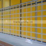 Steel reinforcing tapes for PVC tarpaulin,