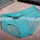 12 colors seamless lace ladies fashion seamless lingerie underpants sexy lingerie panties