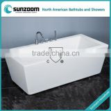 cUPC classical bath tub,bath with antique faucet,freestanding with hand shower sets