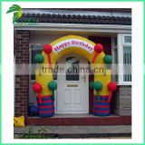 High Quality House Outdoor Design Funny Inflatable Balloon Decorate Arch Door