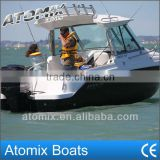 6 meter Fiberglass Fishing boat with Mercury outboard engine (600 Hard Top Fisherman)