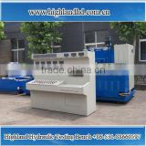 China manufacture Highland hydraulic test bench with flow rate 380l/min on hydraulic manufactuer and repair factory