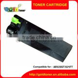 AR020ST/021FT empty toner cartridge for use in sharp :(chip)AR5516/5520 D/N