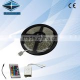 5050 300 SMD RGB Flexible Waterproof LED Strips,12V DC 5m/Roll RGB Light with Remote Decoratio/Auto parts
