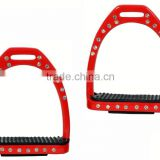 New Crystal Horse Riding Stirrups - Horse Racing Gears - Stainless Steel - Horse Equipments