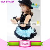 Hot selling New Style Top Quality Fluffy Tutu kids girls skirt and top children's sets outfit                                                                                                         Supplier's Choice