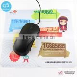 China mouse pad supplier rubber sheet gaming mousepad custom printed mouse mat