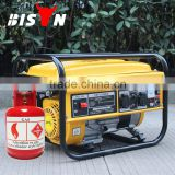 BISON(CHINA) OEM Factory Easy Move With Tire Kit Methane Gas Generator