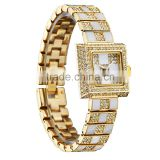 Kingsky KY068 Stylish Diamond Jewelry Fashion Wrist Watch Women