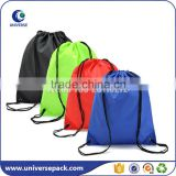 Colorful recycled nylon draw string bag backpack                                                                                                         Supplier's Choice