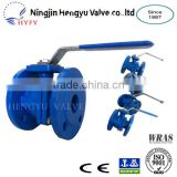 "China Professional Manufacturer Hot Sale, PN16 Ductile Iron, Flanged End 2"" Ball Valve"