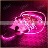 3C FCC RoHS Approved Heavy Bass In-Ear Visible EL flowing Light Glowing Earphone