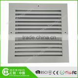 Aluminum Powder Coated Air Linear Grilles Diffuser in HVAC System/Dampers Air Directional Ceiling Diffusers