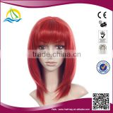 Quality guaranteed Heat Resistant Fibre korean ladies short hair wig