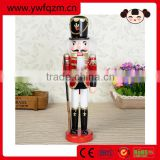 Hot new product for 2016 wooden nutcracker,Lovely wooden toy nutcracker,Christmas nutcracker statue
