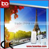 84 Inch Office Wall Mount Electric Motorized Projection Screen with 4:3 for Presentation Equipment