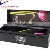 artful design delicate and luxury cardboard wine box,wine gift box