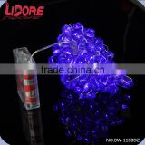 LIDORE New Fashion One Dollar Promotional Tool Items Adornos Para Bodas Big Diamond String Lights