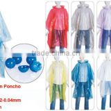 cheap PE rain poncho in ball /rain coats in ball /raincoats in ball/PE,Plastic Material and Raincoats Type rain poncho in pouch