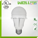 UL CE RoHS 10w equal to 60w cfl 60w incandescent led A19 light bulb