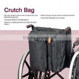 Wheelchair Accessories Slot Water Proof Big Storage Multiple Pockets Backpack Crutch Bag