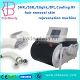 portable Cooling RF skin care Elight(IPL+RF)/SHR/SSR ipl xenon lamp hair removal machine