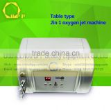 powerful Bio- Photo electricity /supersonic /anti-aging skin oxygen injection salon equipment
