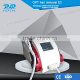 2.6MHZ OPT Machine Home Laser Hair Bikini Hair Removal Removal Machine IPL Power 1000 Watt Shrink Trichopore
