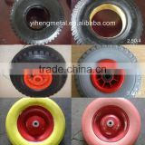 Multifarious Size Good Elasticity PU Foam Wheels For Wheel Barrows Or Other Garden Carts