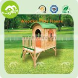 Safe & cosy children treehouse, wooden outdoor playhouse child