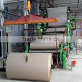 Cardboard base paper making machine price craft paper test liner machine price