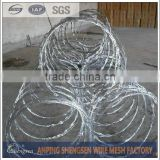 factory directly producing razor wire fence/barbed wire price per roll kenya