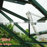 Agriculture aluminium automatic hydraulic window opener glass greenhouse accessories used for sale
