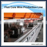 INquiry about China supplier low carbon steel wire flux cored wire making machine steel wire production line