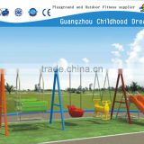 (CHD-881) Colorful outdoor galvanized swing sets
