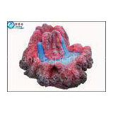 Volcanic Eruption Cool Fish Tank Decorations Polyresin Artificial Fish Aquarium Ornaments