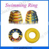 Mickey logo PVC material inflatable donut swim ring