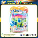 Custom made beautiful design wholesale bubble shooter gun toy