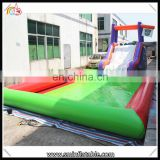 Summer Hot Sale lagre inflatable water slide,swimming pool tube slide,water slide for kid