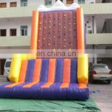 Guangzhou TOP PVC inflatable rock climbing wall rock climbing