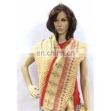 Indian Vintage Handmade Cotton Stole & Scarf Kantha