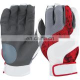 wholesale top quality leather moccasin baseball gloves batting gloves