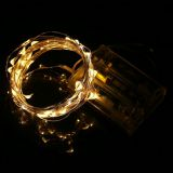 2M 3M Copper LED string light Battery powered Fairy string Light for Party Wedding Christmas decoration light