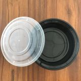 disposable plastic box  American type round container 1250ml