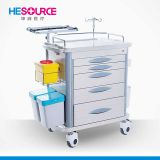 ABS Emergency Cart Hospital Medical Nursing Trolley for treatment