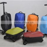 2015 fashion colorful luggage scooter
