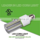 9w led corn light can be used in the enclosed fixtures, 9w led corn light with 5 years warranty